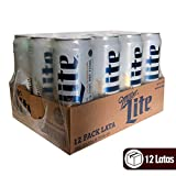 Cerveza Miller Lite 12 Laats 710 Ml