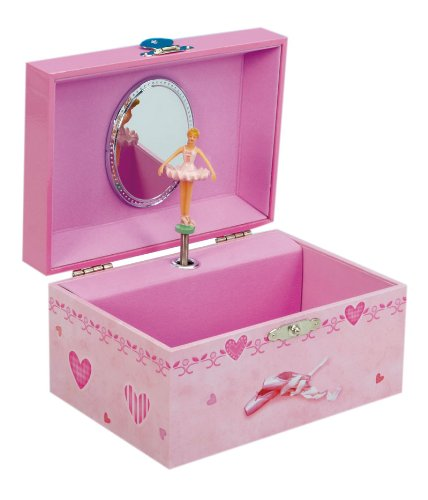 Other home decor musicbox kingdom 22112 ballerina for Amazon ballerina musical jewelry box