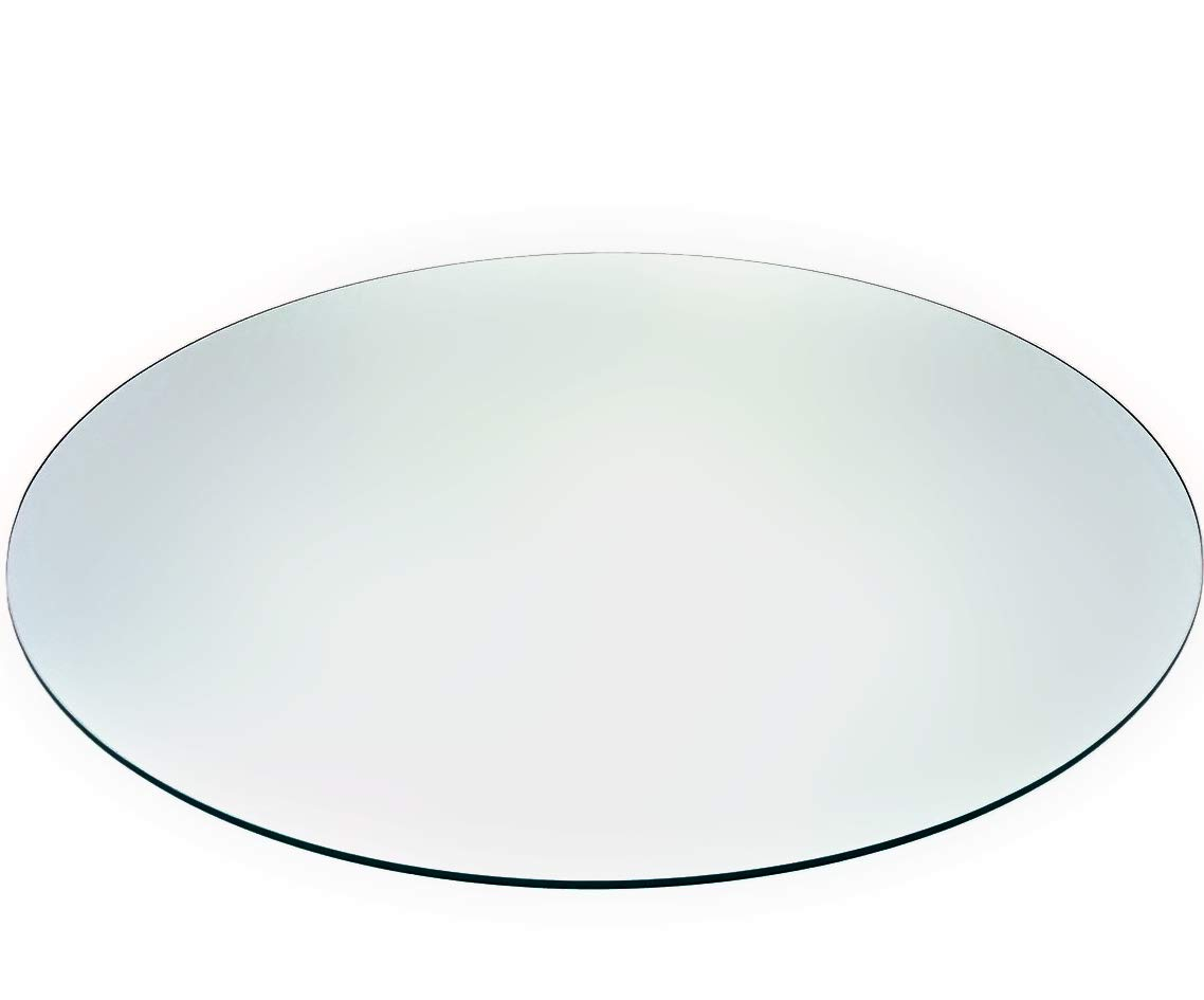 24 Audio-Visual Direct Tempered Glass Patio Table Top with Rounded Edge
