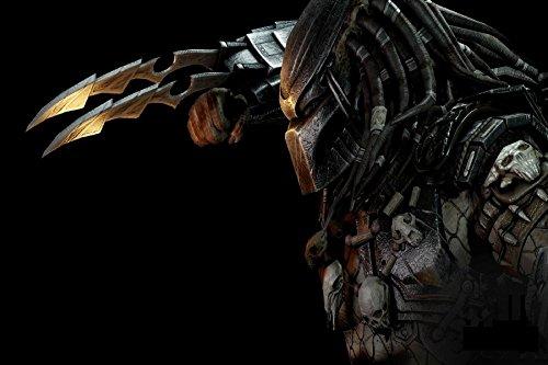Twenty-three Alien Vs. Predator Movie Fantasy Artwork Fabric