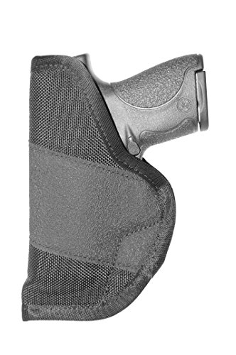 Crossfire Elite GRPSA1S-2 Grip Sub-Compact Ambidextrous Semi-Auto Holster, Left/Right Hand, Black