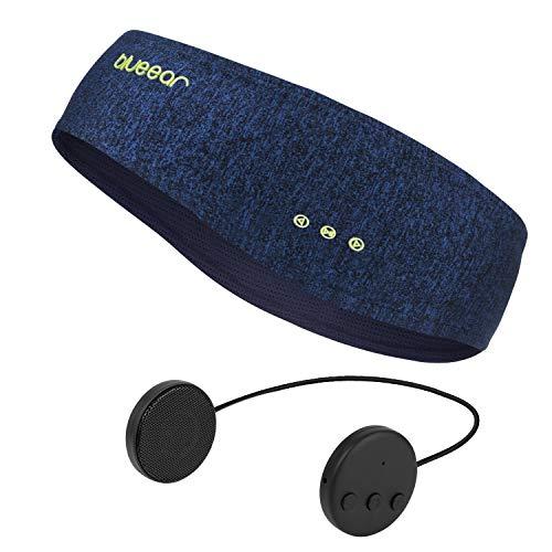 Bluetooth Headband Headphones blueear Wireless Sleepphone Sports Sweatband Hairband (Blue)