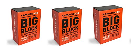 Kamado Joe, KJ-CHAR, Lump Charcoal (3-Pack) by Kamado Joe