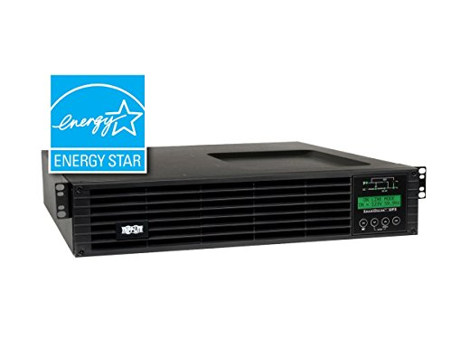 CLASSYTEK Tripp Lite UPS Smart Online 1500VA 1350W Rackmount 120V LCD USB DB9 2URM - 1500 VA/1350 W - 127 V AC 127 V AC - 4.20 Minute - 2U Tower/Rack Mountable - 4.20 Minute - 6 x NEMA 5-15R