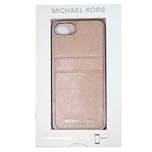 Michael Kors Saffiano Leather Pocket for Apple iPhone 7 4.7 - Ballet
