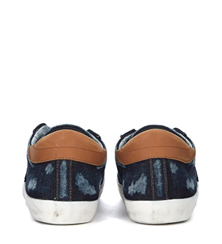 In Philippe Paris Sneaker Denim Blu Model aaqOSg