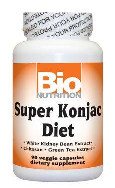 Bio Nutrition Super Diet Konjac - 90 Caps Veggie, paquet de 2