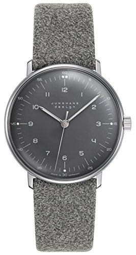 Junghans Max Bill Hand-Winding Watch - Felt & Leather 027/3602.00