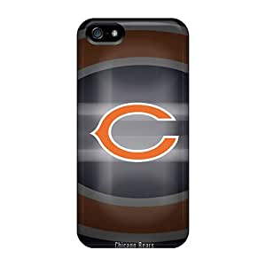Awesome Design Chicago Bears Hard Case Cover For Iphone 5/5s