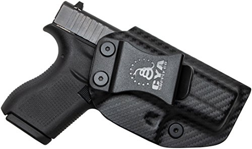 CYA Supply Co. IWB Holster Fits: Glock 42 - Veteran Owned Company - Made in USA - Inside Waistband Concealed Carry Holster