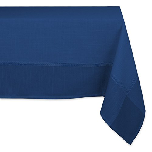 DII Polyester Washable Bordered Tablecloth