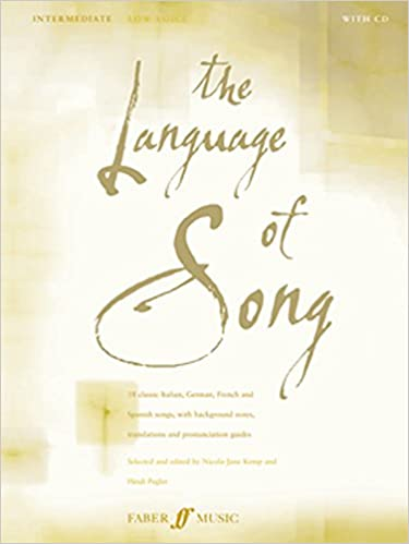 Book The Language of Song: Intermediate - Low Voice