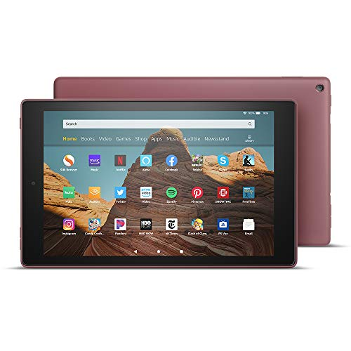 "All-New Fire HD 10 Tablet (10.1"" 1080p full HD display, 64 GB) - Plum"