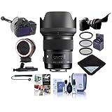Sigma 50mm f/1.4 DG HSM Art Lens Sony Alpha - USA Warranty Bundle 77mm Filter Kit, FocusShifter DSLR Follow Focus, Peak Design Lens Changing Kit Adapter, Software Package More