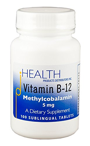 Vitamin B-12 Methylcobalamin – Coenzyme Vitamin B12 Best Utilized by the Body – 5 mg Sublingual Tablet for Rapid Uptake and Assimilation – Flavored with Acerola Cherry, Mannitol & Stevia (100 Tablets)