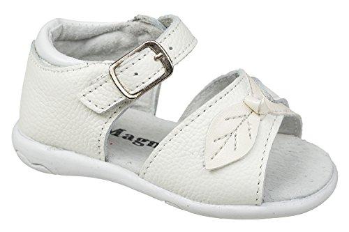 gibra - Sandalias de vestir de Piel para niña Weiß