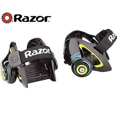 Razor Jetts Heel Wheels - Green : Sports & Outdoors