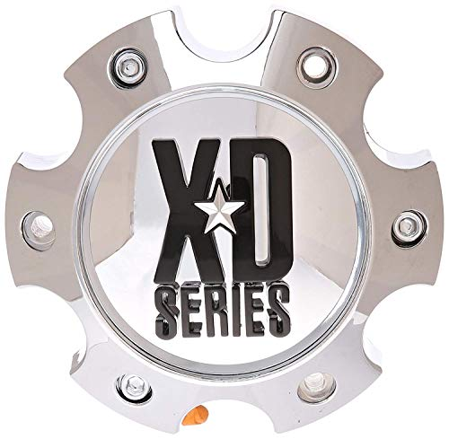 (KMC XD Series 796 797 798 Chrome 6 Lug Wheel Rim Center Cap 1079L145)