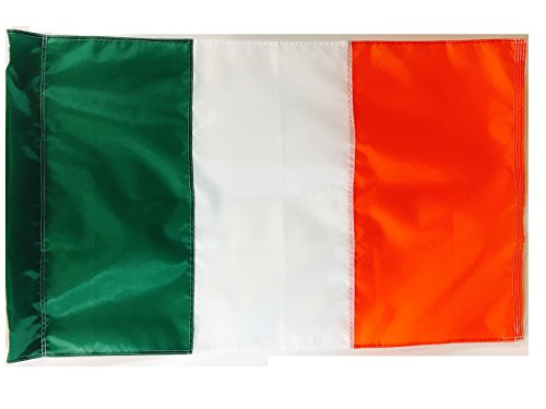 2.5x4 FT (Pole Sleeve) Double Sided Ireland Irish St Patricks Day WindStrong Flag (Sewn Stripes) Deluxe Outdoor SolarMax Nylon Flag Made in the USA