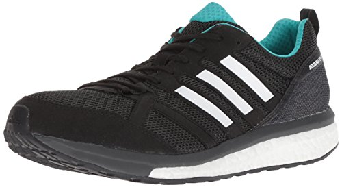 adidas Men's Adizero Tempo 9 Running Shoe Black/hi-res Aqua/Mystery Ink 10 M US