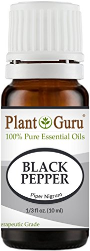 Black Pepper Essential Oil (Piper Nigrum) 10 ml. 100% Pure Undiluted Therapeutic Grade.