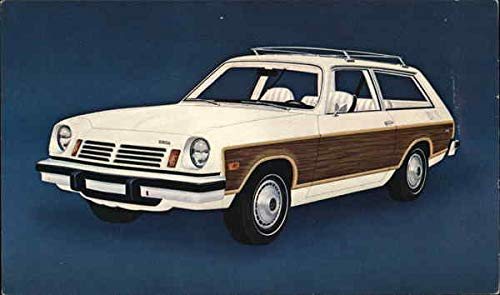 1975 Chevrolet Vega Wagon Cars Original Vintage - Chevrolet Vega Wagon