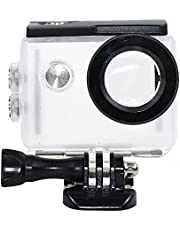 TEKCAM Action Camera Waterdichte Case Compatibel met AKASO EK7000/EKEN H9R/FITFORT 4K/DBPOWER EX5000 Sport Camera Onderwater 30M Beschermende Behuizing Case