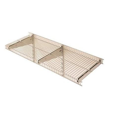 Rubbermaid FastTrack Garage Storage System Wire Mesh Shelf, 16u0026quot;,  FG5E2102SNCKL