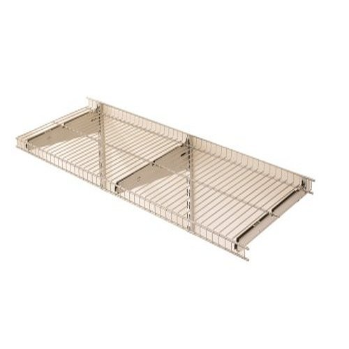 Rubbermaid FastTrack Garage Storage System Wire Mesh Shelf, 16', FGE21FTSNCKL