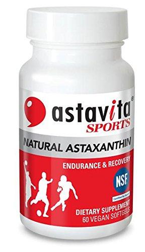 Astavita SPORTS Astaxanthin Endurance Certified