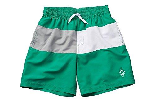 140 SV Werder Bremen SV Werder Bremen Badeshorts Swimshorts Kids Raute Gr