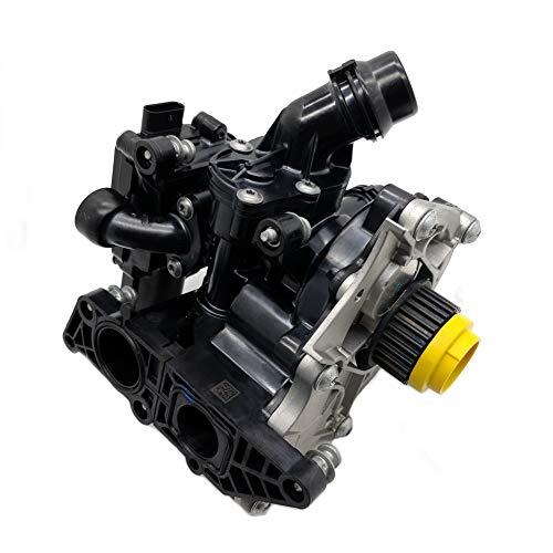 - OKAY MOTOR Electric Water Pump Assembly W/Thermostat & Gasket For VW Golf Alltrack/R/SportWagen GTI MK7 Gen3 Audi A3 A4 TT EA888 1.8L 2.0L