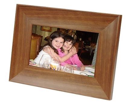 Amazon.com : Smartparts SPDPF70EW 7-Inch Wood Digital Picture Frame ...