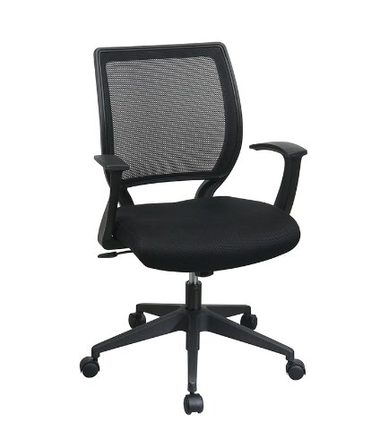 "Task Chair with ""T"" Arms Black"