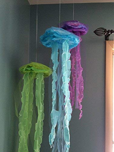 Hanging Jellyfish Decor ()