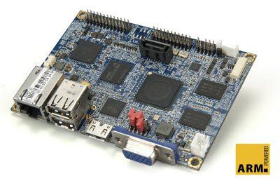 VIA Embedded / VAB-800 / SBC / Pico-ITX PC / ARM Freescale Cortex-A8 single core iMX537 800MHz