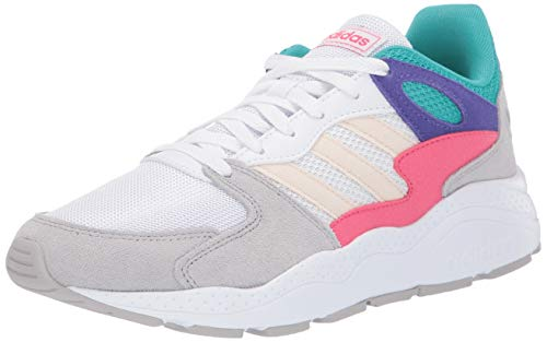 adidas Women's Chaos Walking Shoe, White/Ecru Tint/Grey, 11 Medium US