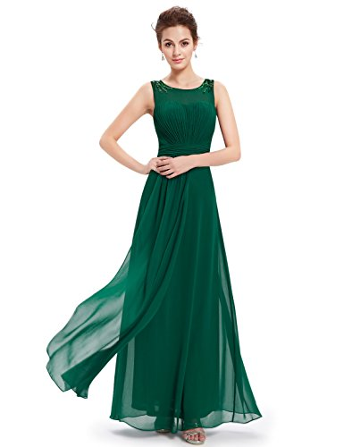 Ever-Pretty HE08533GR14 - Vestido para mujer Verde
