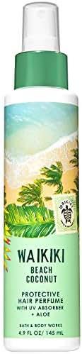 Bath and Body Works WAIKIKI - BEACH COCONUT Protective Hair Perfume 4.9 Fluid Ounce (2019 Edition)