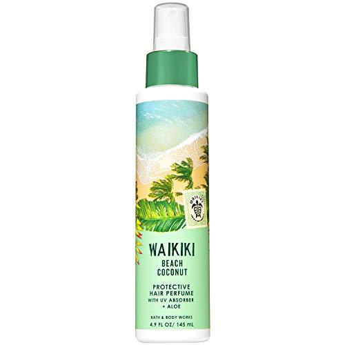 Bath and Body Works WAIKIKI - BEACH COCONUT Protective Hair Perfume 4.9 Fluid Ounce (2019 Edition) (Best Vanilla Perfume 2019)