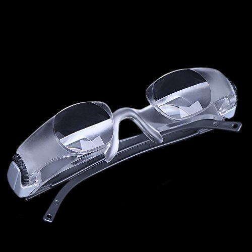TOOGOO(R) 2.1X Myopia Magnifying Television Glasses TV Magnifier -300 Degree Goggles