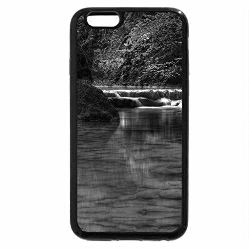 iPhone 6S Case, iPhone 6 Case (Black & White) - River Urederra, Navarre, Spain