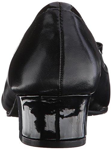 Suave Estilo Por Hush Puppies bomba vestido Santel Black Elegance Polyurethane/Patent Polyurethane