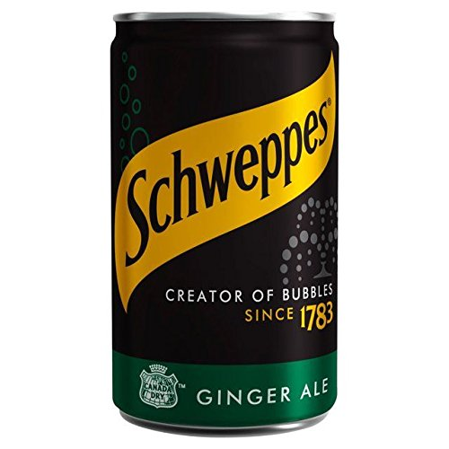 Schweppes Canada Dry Ginger Ale Mini Can - 150ml (5.07fl ()