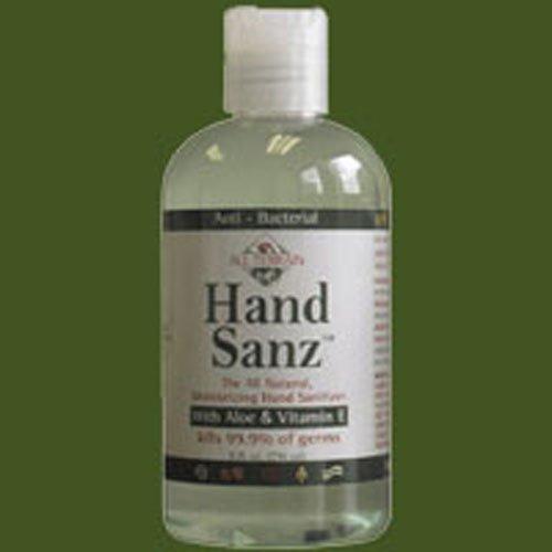 - All Terrain Antiseptic Hand Sanitizer, Aloe and Vitamin E Hand Sanz All Natural, 8 Ounce