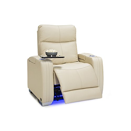 Seatcraft Solstice Leather Power Recliner with Power Lumbar