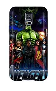 For ZippyDoritEduard Galaxy Protective Case, High Quality For Galaxy S5 The Avengers 51 Skin Case Cover
