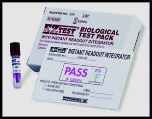 EZTest Instant Readout Biological Test Pack ()
