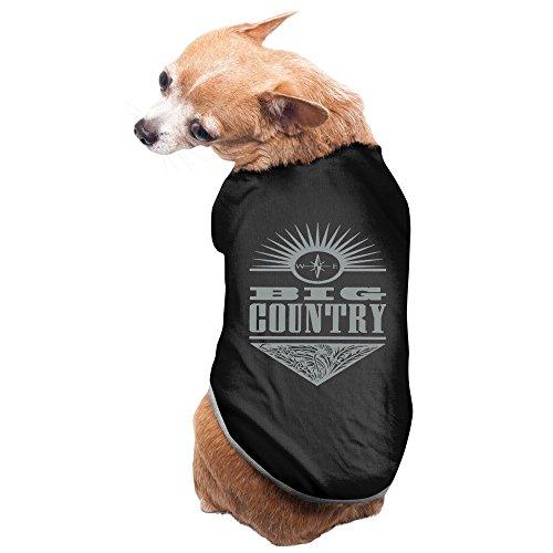Fashion Sleeveless Pet Supplies Big Country Scottish Rock Band Stuart Adamson Dog Costumes Dog Dress (Bass Famous Jazz)