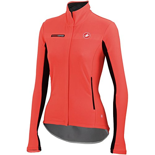 Womans Windstopper (Castelli Gabba Women's Long Sleeve Jersey Red, XS)